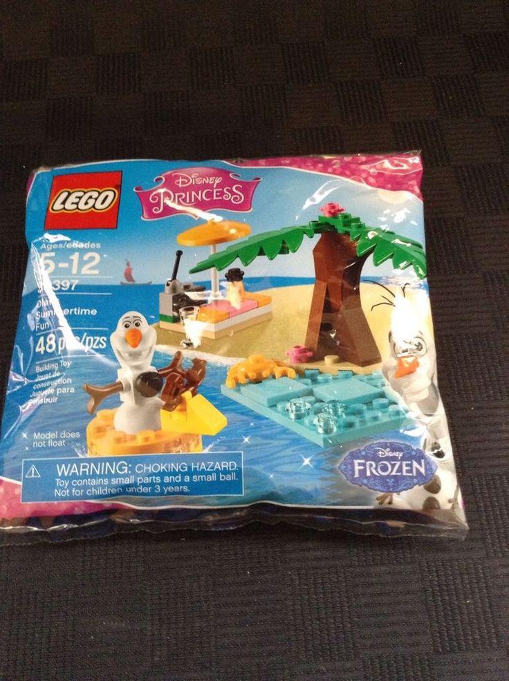 NIP Lego Disney Princess 30397 Olafs Summertime Fun Frozen Polybag Building Toy #LEGO