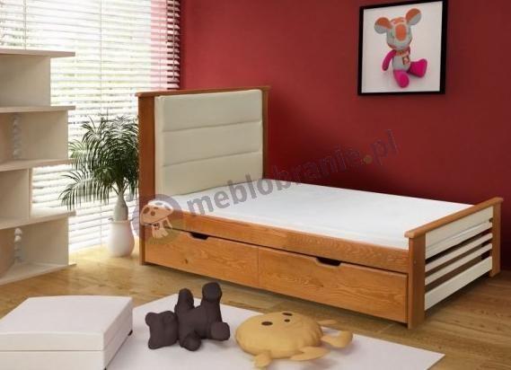 łóżko Białe 140x200 Z Materacem łóżko Do Sypialni 150x200