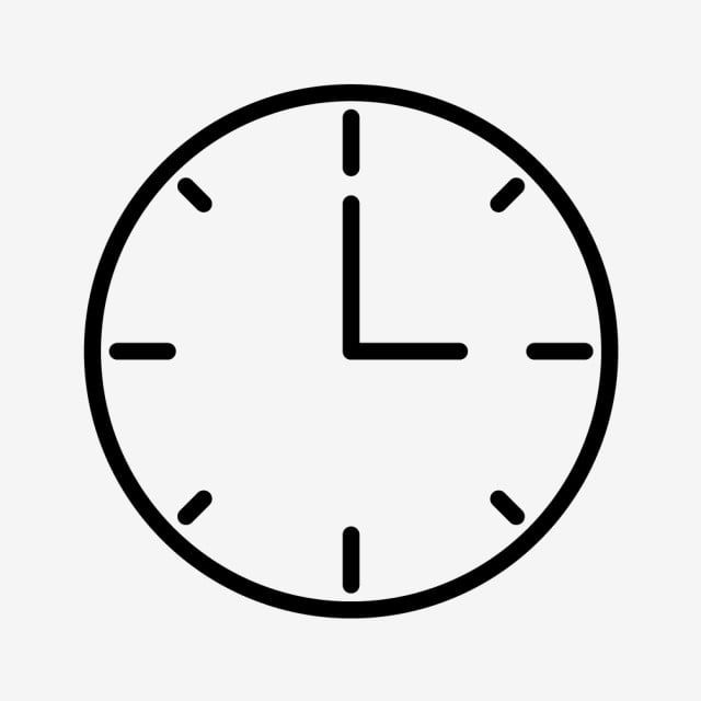 Clock Time Count Down Alarm Clock Time Count Down Alarm Illustration Symbol Graphic Line Linear Outline Flat In 2020 Clock Icon Ios App Icon Black And White Instagram