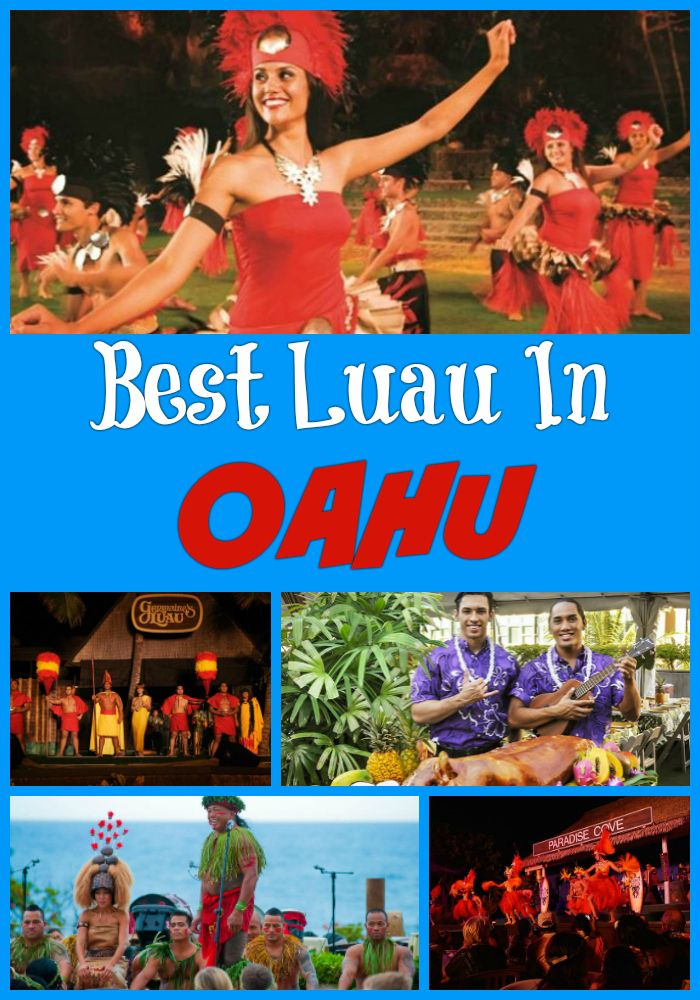 Reviews of the Best Luau in Oahu, Hawaii - Paradise Cove, Polynesian Cultural Center, Germaine's Luau, Chief's Luau at Sea Life Park, Rock-A-Hula Luau Buffet and Show, Dimond Head