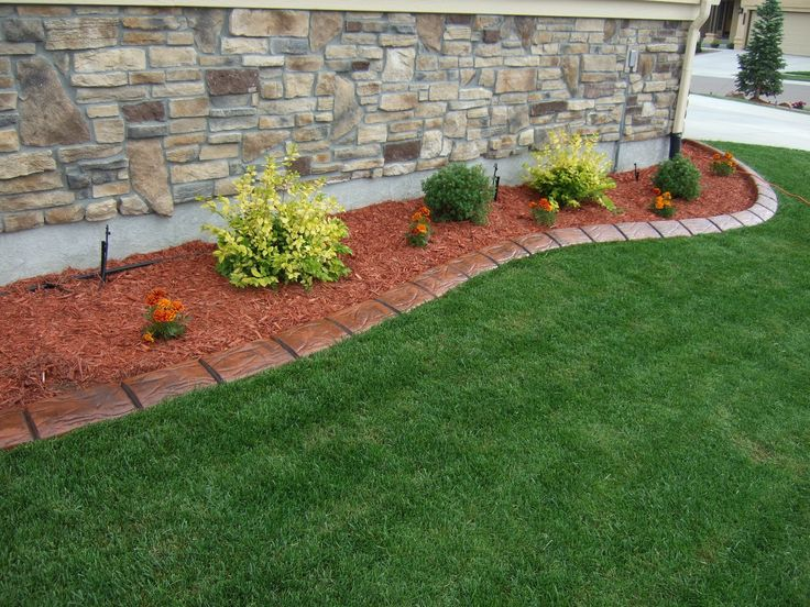 14 best images about Latest innovation in Lawn Edging and ... on Backyard Border Ideas id=16906