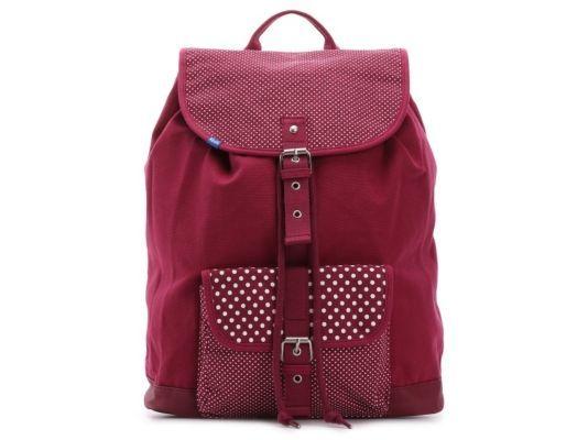 Women's Keds Buckle Backpack - Maroon