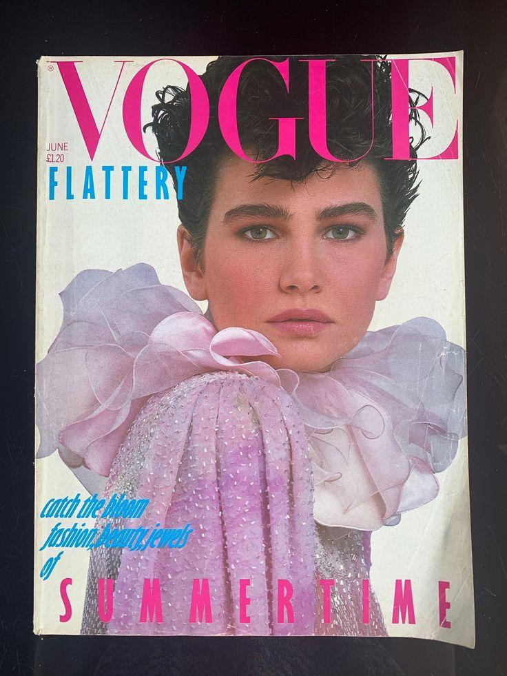 VOGUE June 1982 (UK) in 2020 Vogue, Vogue magazine, Etsy