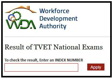 TVET National Exams Result 2017-18