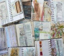 Shelley Rhodes' Sketchbooks