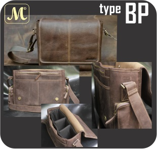 BP ... the different style of camera bags