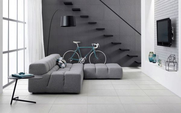 Contemporary floor and wall tiles from Bedrock Tiles | 3 Finishes - 4 Colours | Suitable for use as Commercial Tiles | Suitable as Architectural Tiles