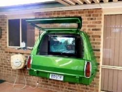 Repurposed Car Parts - Tv Cabinet using the Rear End of a Car