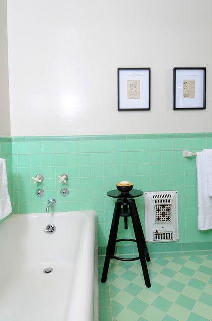 Mint Green Bathroom Green Pinterest