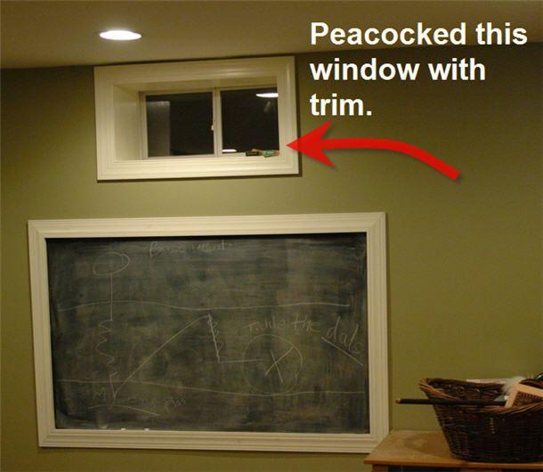 Egress window basement window curtains and basement window treatments
