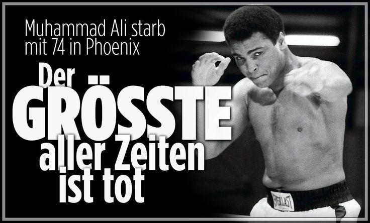 RIP,Astro #snake #Ali,#TheGreatestOfAllTime - Der GRÖSSTE aller Zeiten ist tot   Muhammad Ali starb mit 74 in Phoenix http://www.nbcnews.com/news/sports/muhammad-ali-greatest-all-time-dead-74-n584776 http://www.bild.de/sport/mehr-sport/muhammad-ali/mit-74-gestorben-46126874.bild.html http://edition.cnn.com/2016/06/03/us/muhammad-ali/  http://www.bbc.com/news/world-us-canada-10985926