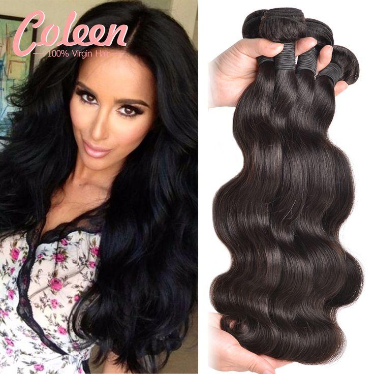 7A Eurasian Virgin Haar Lichaam 4 Bundels Goedkope Menselijk haar Bundels Eurasian Golvend Haar Body Wave Weave Human Hair Extensions