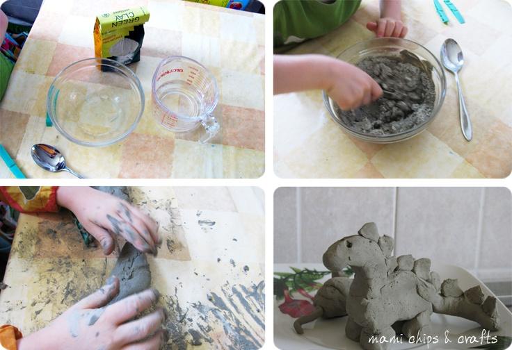 mami chips & crafts: argilla da modellare fatta in casa