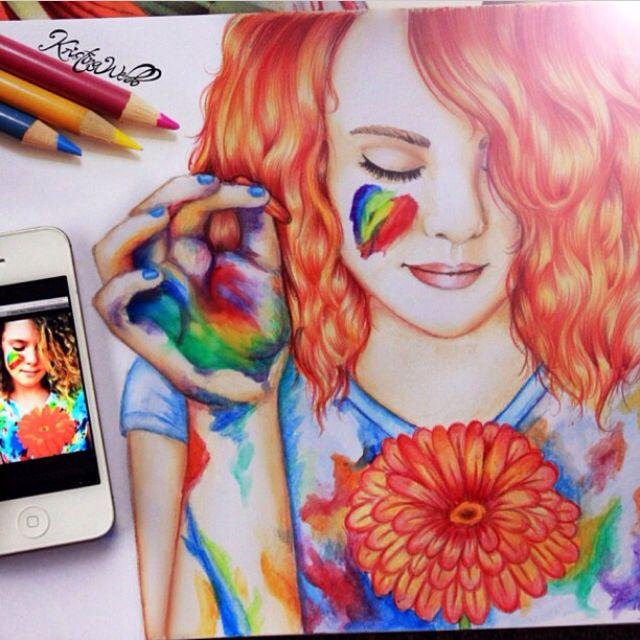 Kristina Webb Drawing Artwork