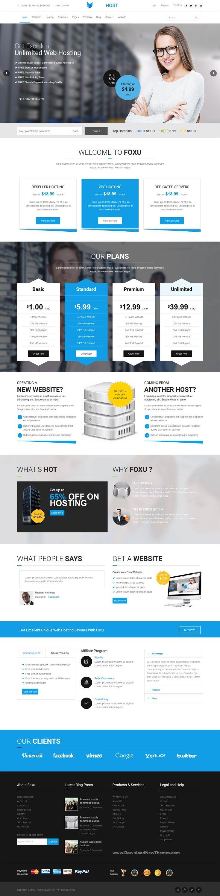 22++ Web hosting wordpress theme information