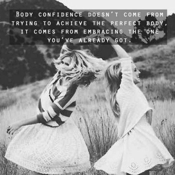Body Confidence Quote