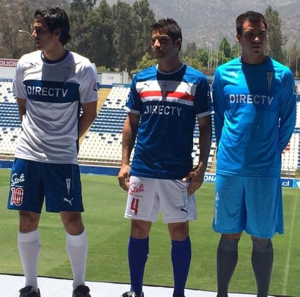 Universidad Catolica Jersey 2014- Puma UC Chile Home Away Kits 2014