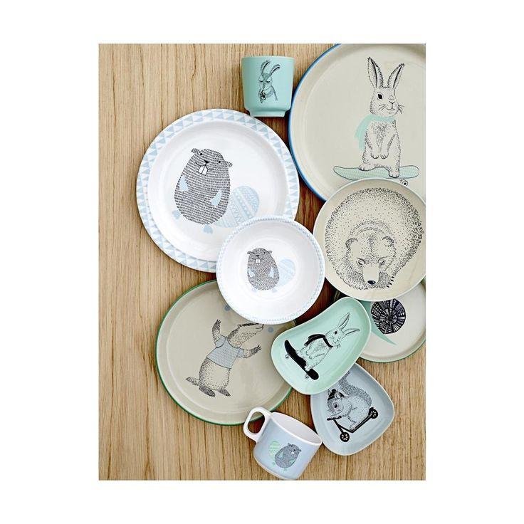 Dětský keramický kalíšek Marius Rabbit