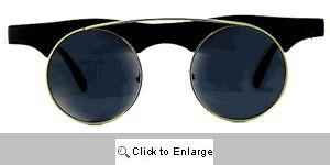 Rebel Flat Bridge Sunglasses - 214 Black