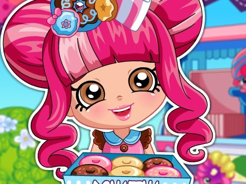 Shopkins Shoppies Donatina is a free Dress Up Games. If you want to play more games, check out: Shopkins Shoppies Donatina Dress Up game, Shopkins Shoppies Popette Dress Up game, Shopkins Shoppies Jessicake Dress Up game. To play even more games, head over to the Dress Up games at ChipGames.net