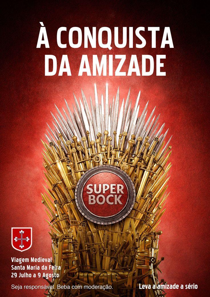 Super Bock, Viagem Medieval Santa Maria da Feira, Portugal, GOT