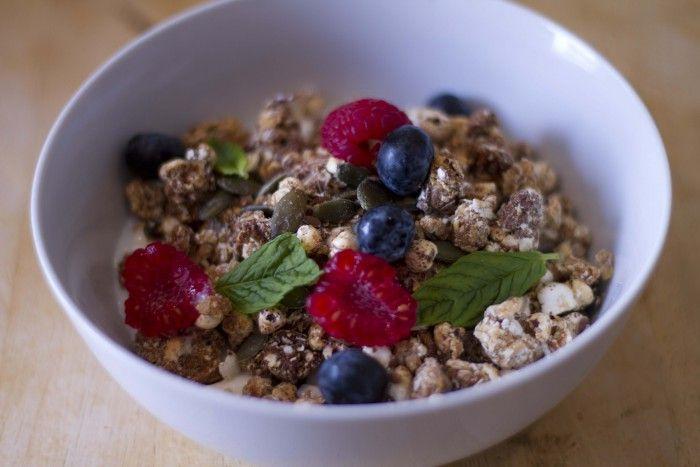 Recipe of the week: Joe's Homemade Granola / The Body Coach Blog / The Body Coach