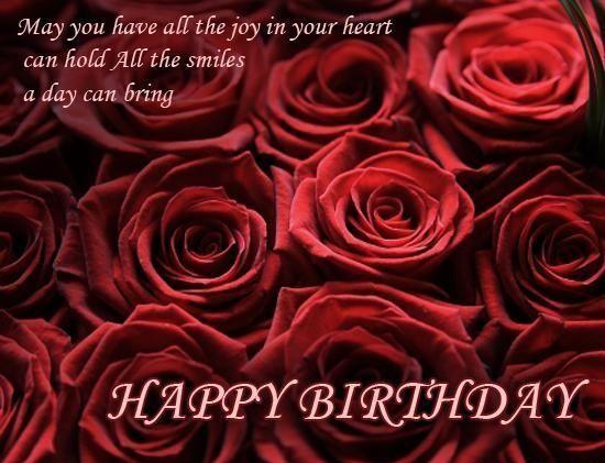 Birthday wishes to girlfriend