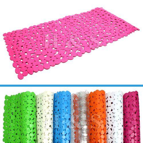 Hu0026S® Anti Slip Bath Shower Mat   Pebble (Hot Pink) Sh! Https
