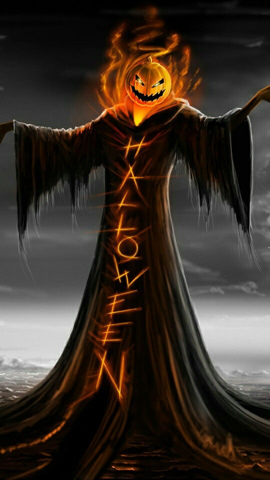 Boooooo - Halloween.... Cut out of wood. Add plastic light up pumpkin and either Happy Halloween or Trick or Treat to his robe. Make it not so haunting or scary for little kids.