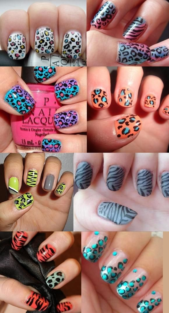 nail art ideas | Animal Print Nail Art | Ladies Trends