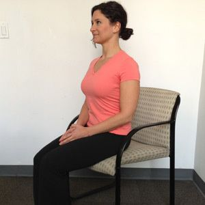 8 easy exercises you can do sitting down this will be a for Sitting easy chairs