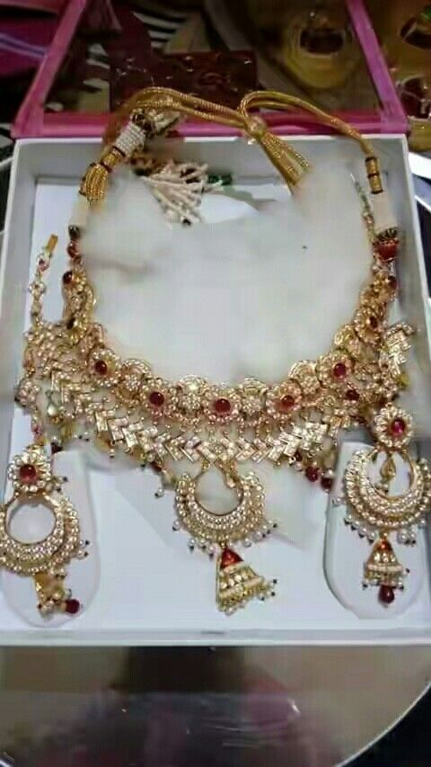 Rajputi jewellery necklace by Kuldeep Singh