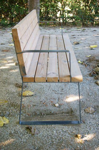 Banco Pine #bench #seating #furniture