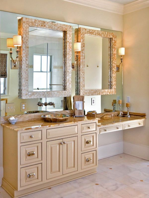 decorative wall mirrors for fascinating interior spaces bathroom vanity