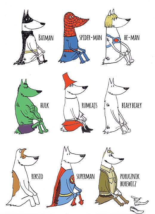 #dog #illustration #superman Superman!