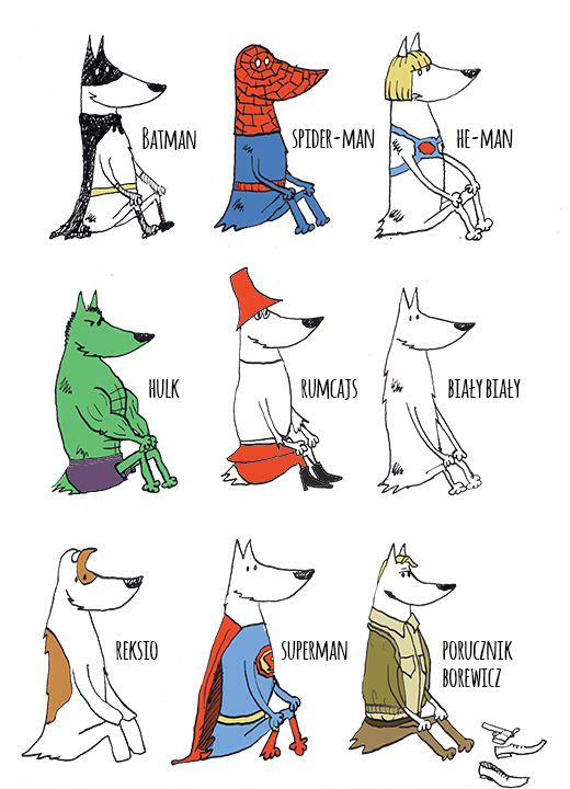 #dog #illustration #superman Superman!