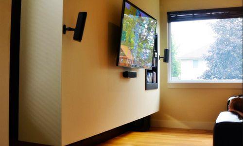 Ideas para montar tu pantalla de tv led y dvd - Pegatinas para la pared ...
