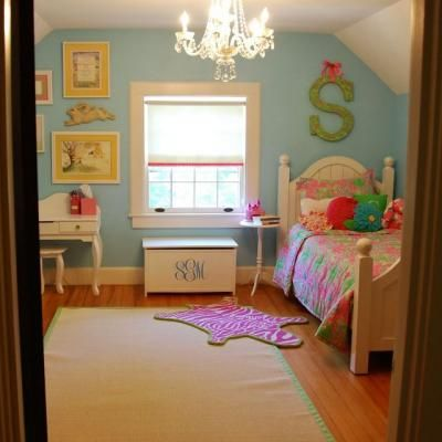 LITTLE GIRLS' ROOM REDO (SOME CUTE IDEAS)