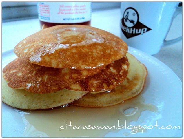 Resipi Citarasawan   Koleksi Resepi Kakwan Buttermilk Pancakes