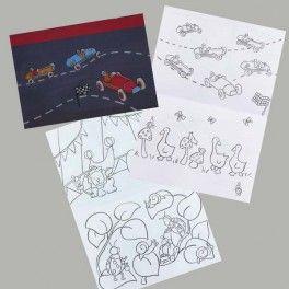 Livre de coloriages petit format Voitures