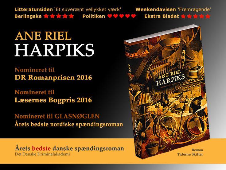 Ane Riel for romanen 'Harpiks - Google-søgning