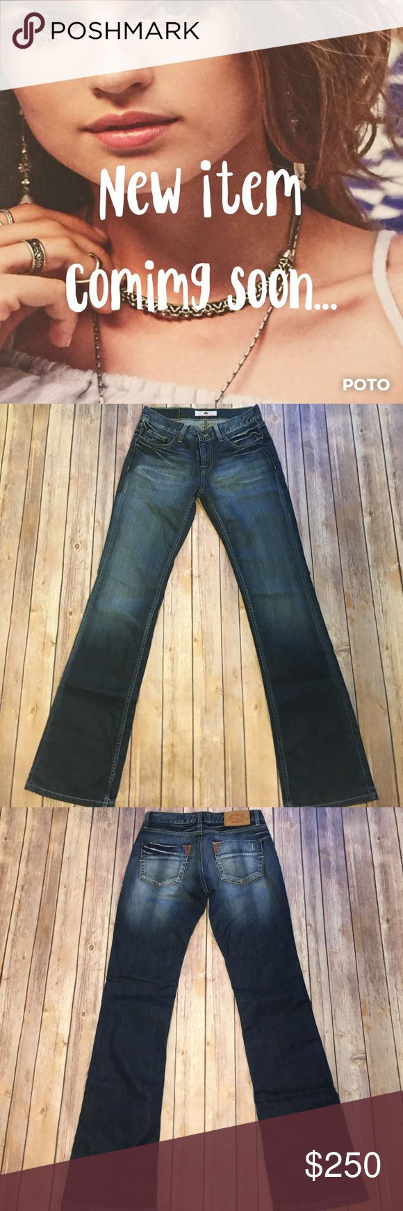 """🆕 Slim Flare Leg Jeans Gently worn, Fornarina, slim flare jeans. Size 27. Mid-rise, medium wash, some stretch with a little bit of whiskering on the front and a little bit of red stitching on the back pockets. Approx. measurements, waist 14"""", hips 19"""", rise 8"""", inseam 32"""". Please use the offer button for all offers & bundle for a discount. Thanks 💋 410 Fornarina Jeans"""