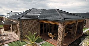 Monier Homestead Sambuca Concrete Roof Tile