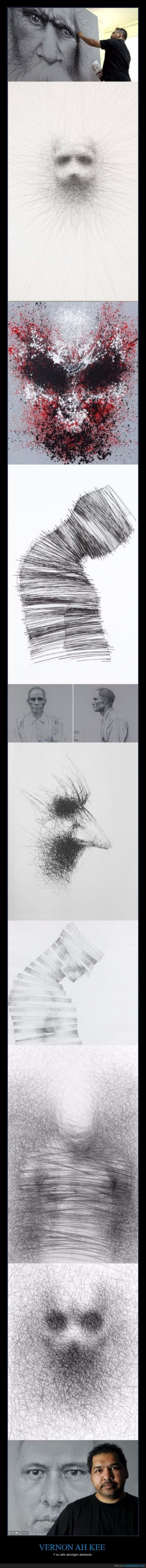 Algunas de sus obras dan bastante de mal rollo - Y su arte aborígen abstracto   Gracias a http://www.cuantarazon.com/   Si quieres leer la noticia completa visita: http://www.estoy-aburrido.com/algunas-de-sus-obras-dan-bastante-de-mal-rollo-y-su-arte-aborigen-abstracto/
