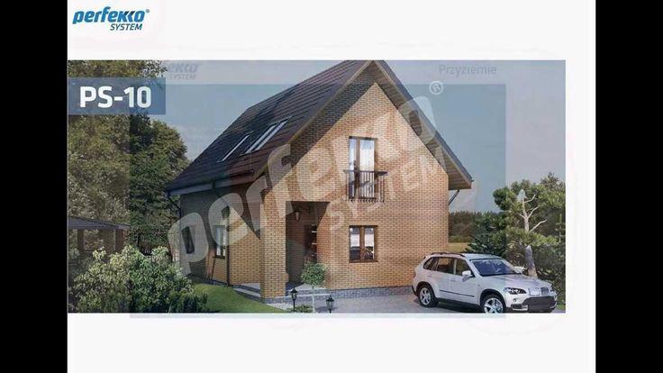 PS-10_ Projekt autorski domu jednorodzinnego w technologii Perfekko System