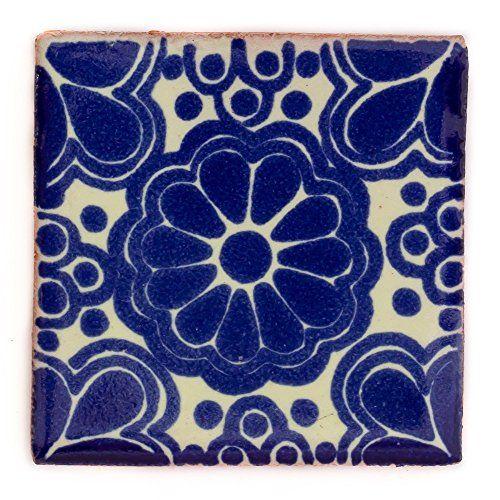 Ceramic Mexican Tile – 5cm- Handmade and Ethically Traded... https://www.amazon.co.uk/dp/B00HW4U7YG/ref=cm_sw_r_pi_dp_x_HI0dAb4SKVPH0