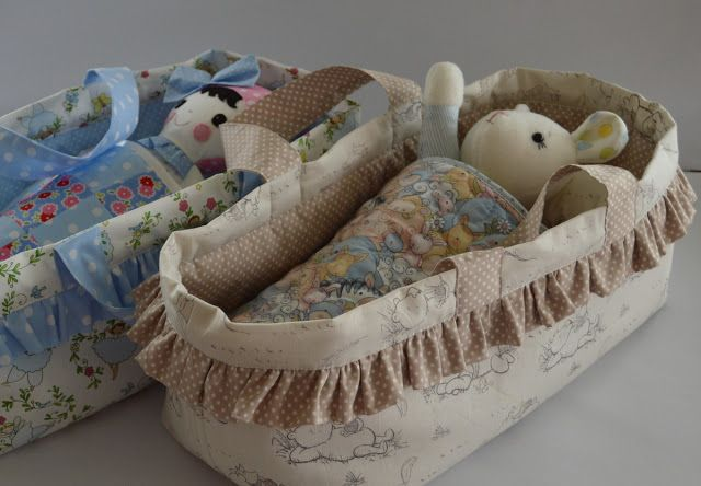 Gee's Projects My Carrycot Tutorial for Sew Mama Sew