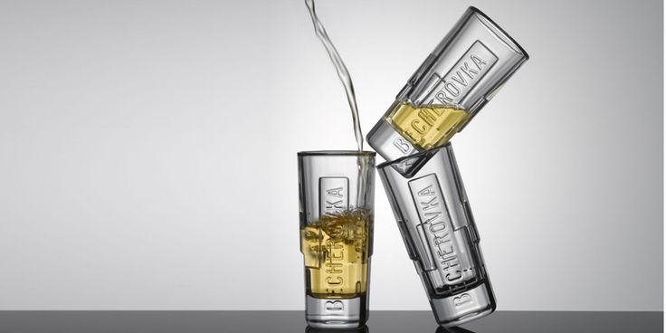 Becherovka shot 2011 - Beverage branded glass by Koncern Design Studio