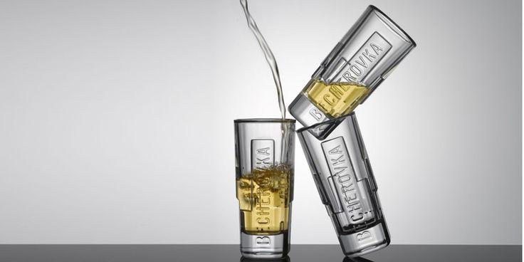 Becherovka shot 2011 - Beverage branded glass by Koncern Design Studio
