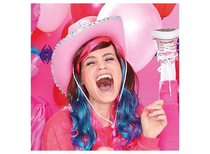 Ook als vrouw kan je best cowgirl zijn: met deze roze cowboyhoed bijvoorbeeld. Ideaal voor carnaval!
